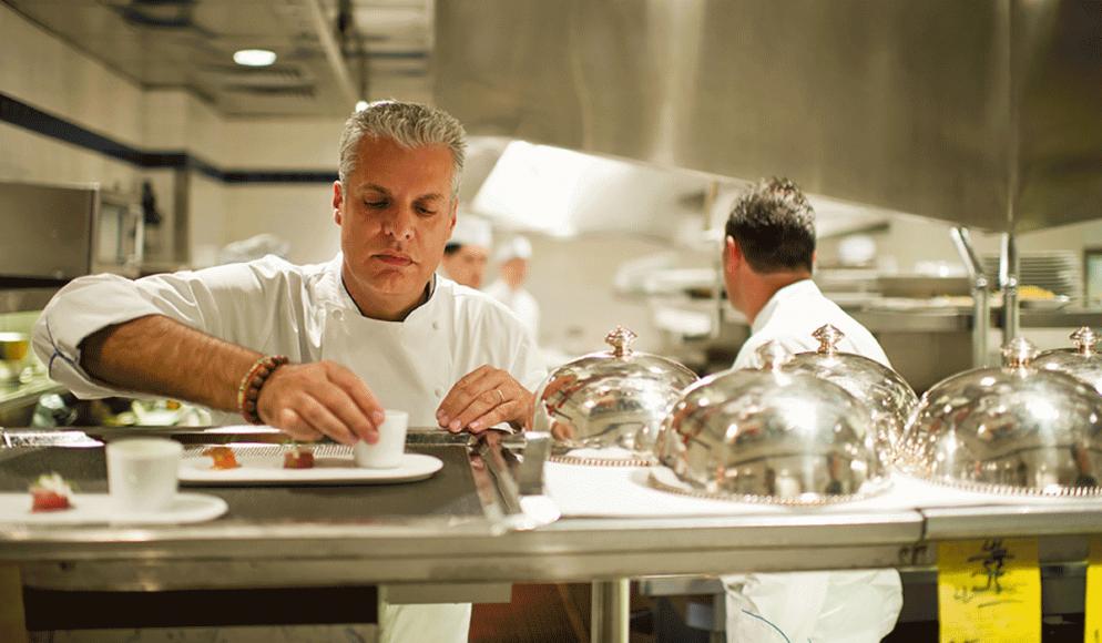 Kokk og medeier i Le Bernardin, Eric Ripert.